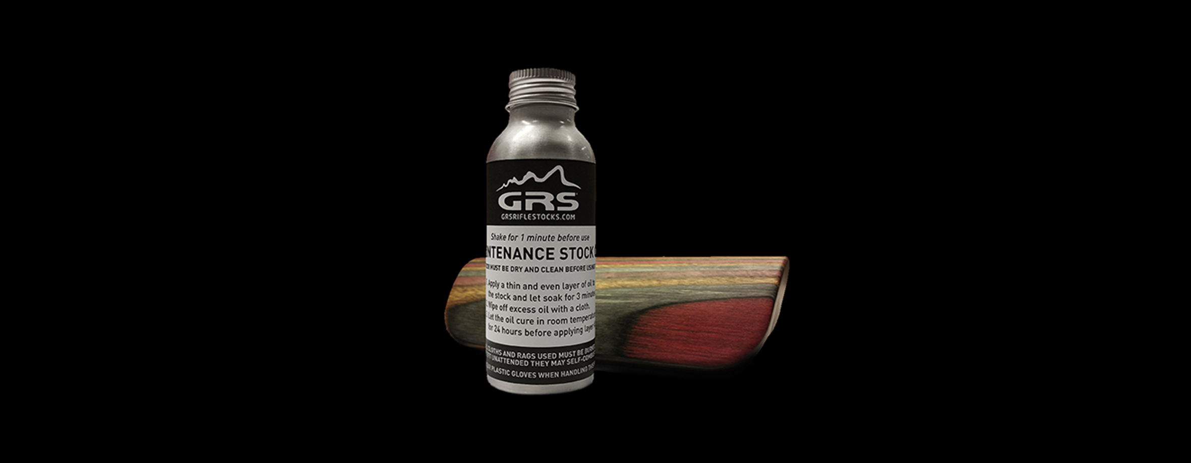 GRS Maintenance oil - GRS Riflestocks